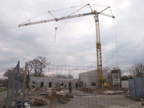Construction caserne pompiers Clohars-Carnoët