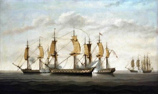 vaisseaux compagnie indes et vaisseaux anglais