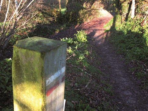 sentier randonnée Clohars