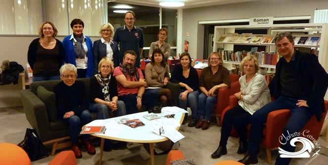 Visuel 6 mois de la médiathèque Clohars-Carnoët