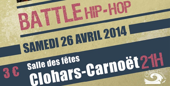 Visuel Battle hip-hop clohars-carnoët