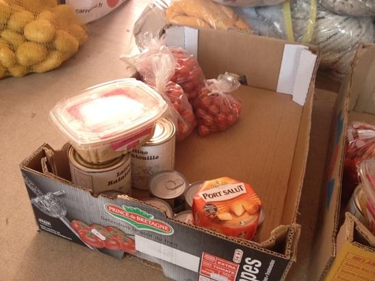 la banque alimentaire Clohars Carnoet