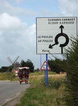 Acces route clohars carnoet