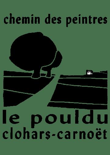 Logo du chemin des peintres Clohars-Carnoët