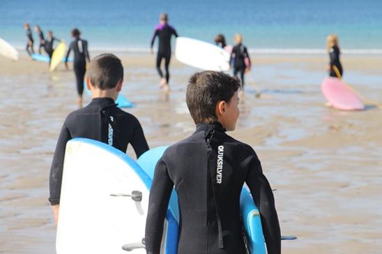 surf plage kerou clohars