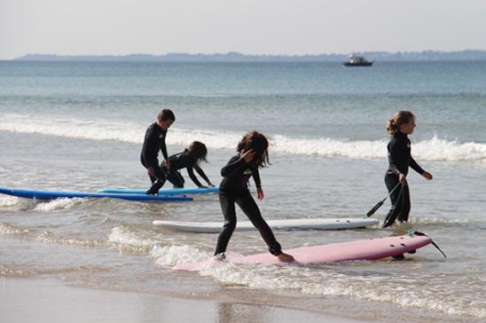 Le surf dans les écoles